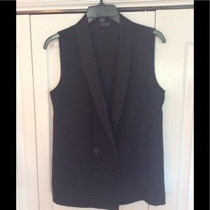 Top shop tuxedo vest. Size US4